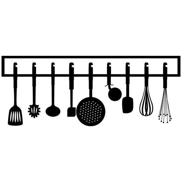 Wandtattoos: Cookware