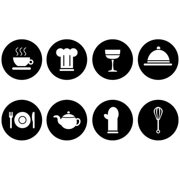 Wandtattoos: Pictograms
