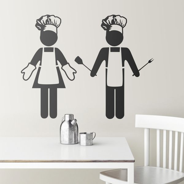Wandtattoos: kitchen