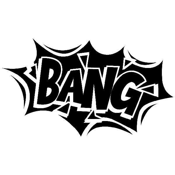 Kinderzimmer Wandtattoo: Comic Bang 02