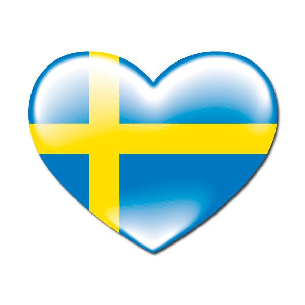 Aufkleber: Sweden