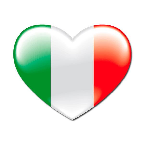 Aufkleber: Italia