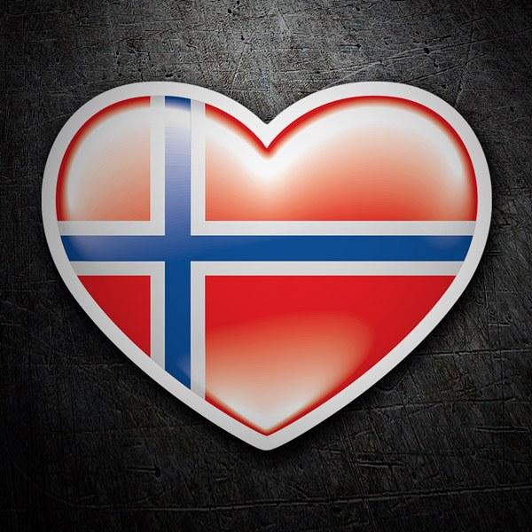 Aufkleber: Norway
