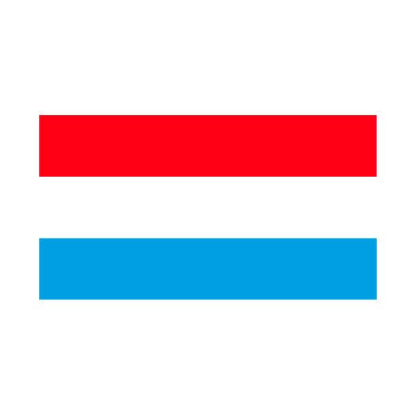 Aufkleber: Luxembourg