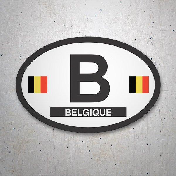 Aufkleber: Belgique