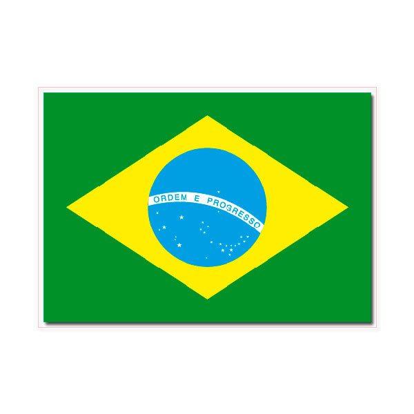 Aufkleber: Brazil