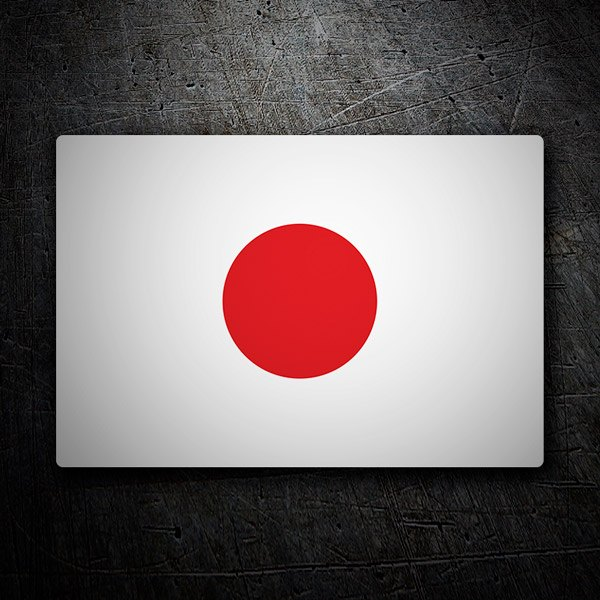 Aufkleber: Japan