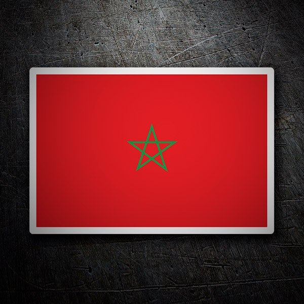 Aufkleber: Morocco