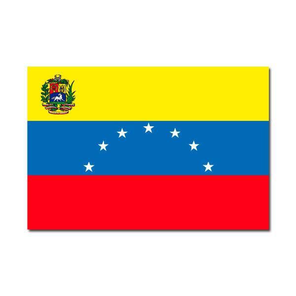 Aufkleber: Venezuela