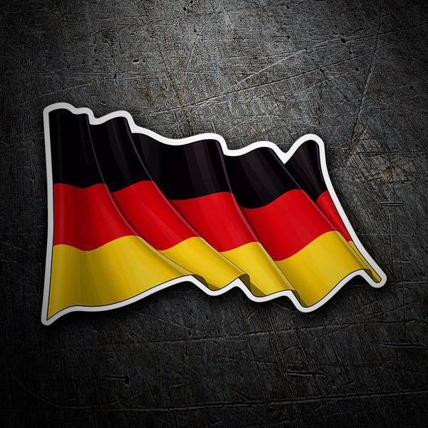 Aufkleber: Deutsch Fahnenschwingen