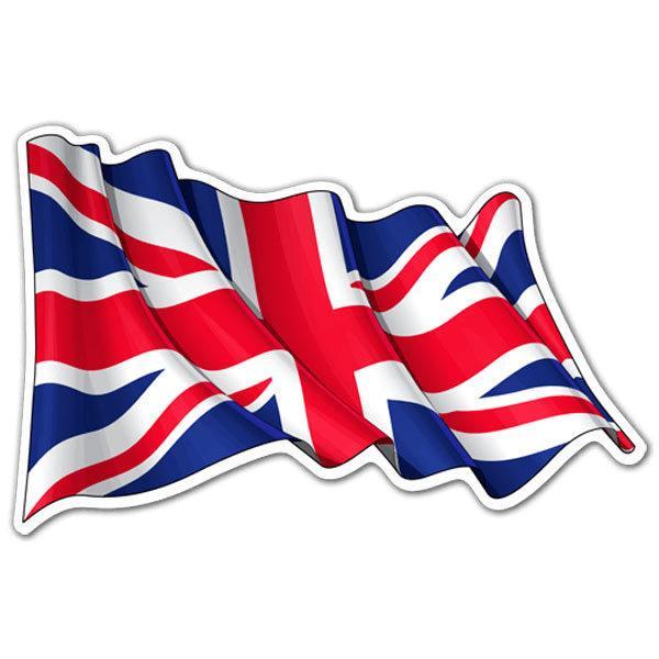 Aufkleber: UK Fahnenschwingen