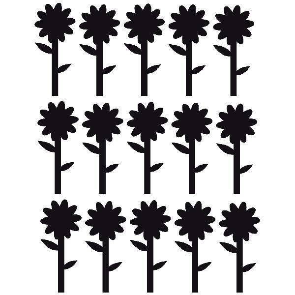 Wandtattoos: Sunflowers