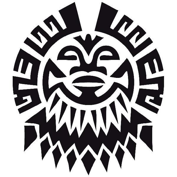 Aufkleber: Tribal 07