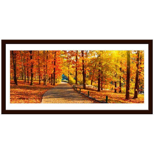Wandtattoos: Herbst im Park