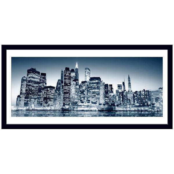 Wandtattoos: Blue Manhattan