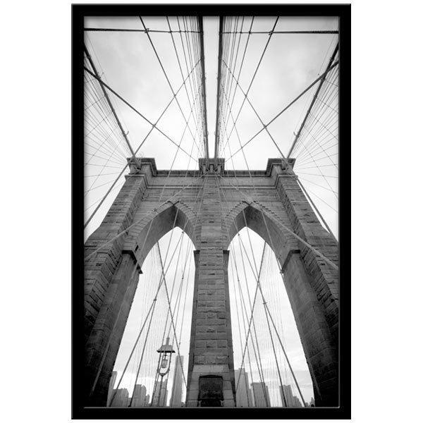 Wandtattoos: Innerhalb der Brooklyn Bridge