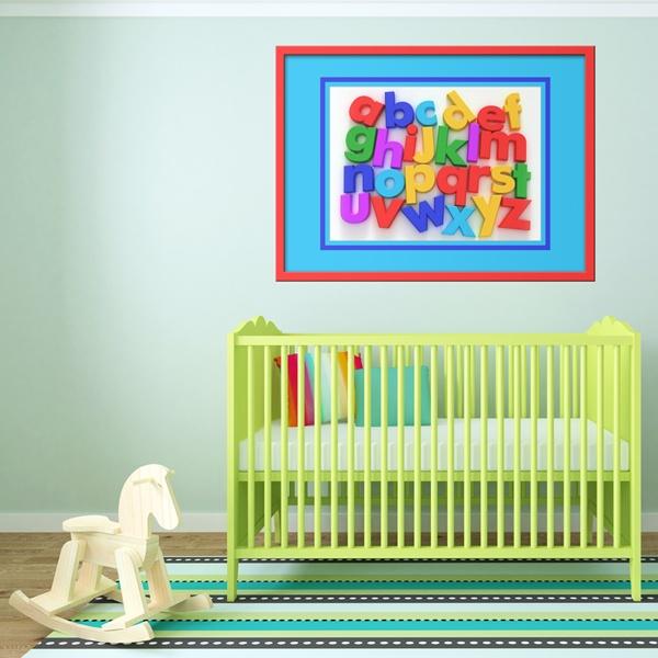 Kinderzimmer Wandtattoo: Alphabet I