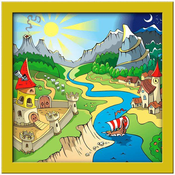 Kinderzimmer Wandtattoo: Stärke des Flusses