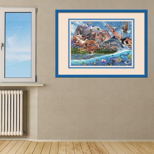 Kinderzimmer Wandtattoo: Land und Meer