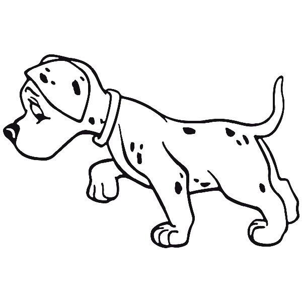 Wandtattoos: dog12
