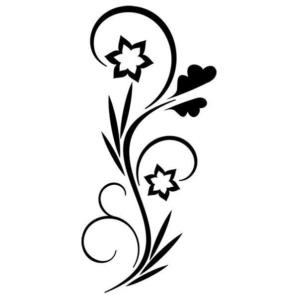 Wandtattoos: Floral 19