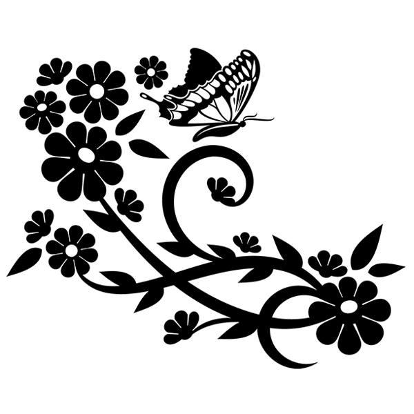 Wandtattoos: Floral 23