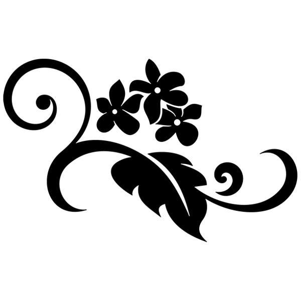Wandtattoos: Floral 38
