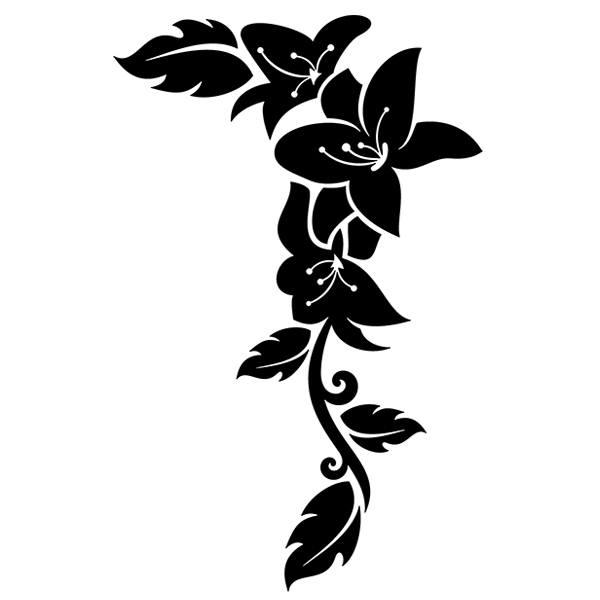 Wandtattoos: Floral 53