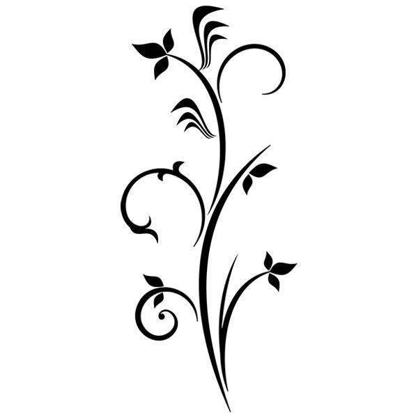 Wandtattoos: Floral 63