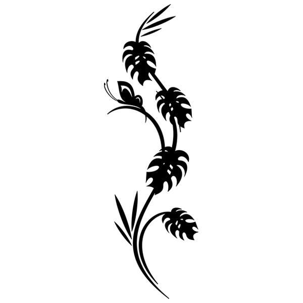 Wandtattoos: Floral 66