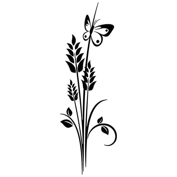 Wandtattoos: Floral 70