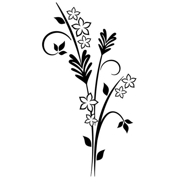 Wandtattoos: Floral 71