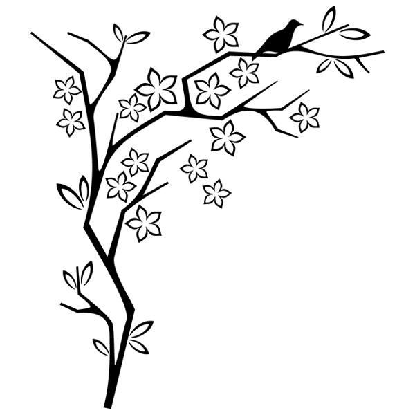 Wandtattoos: Floral 80