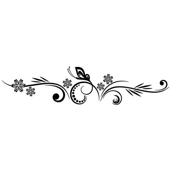 Wandtattoos: Floral 84