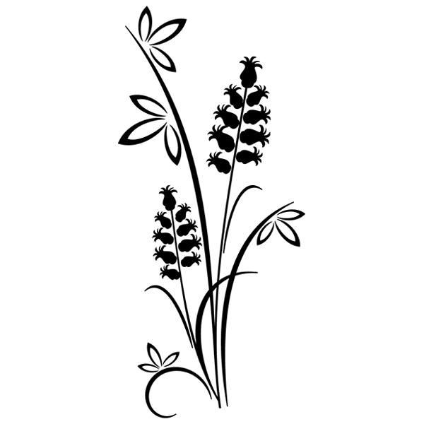 Wandtattoos: Floral 96