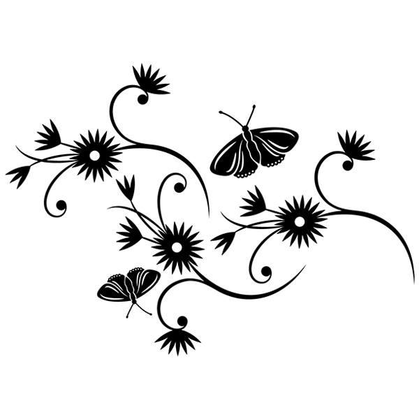 Wandtattoos: Floral 101