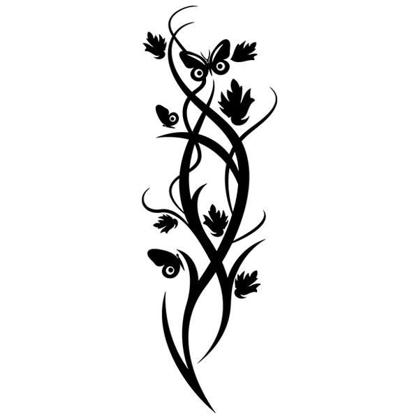 Wandtattoos: Floral 122