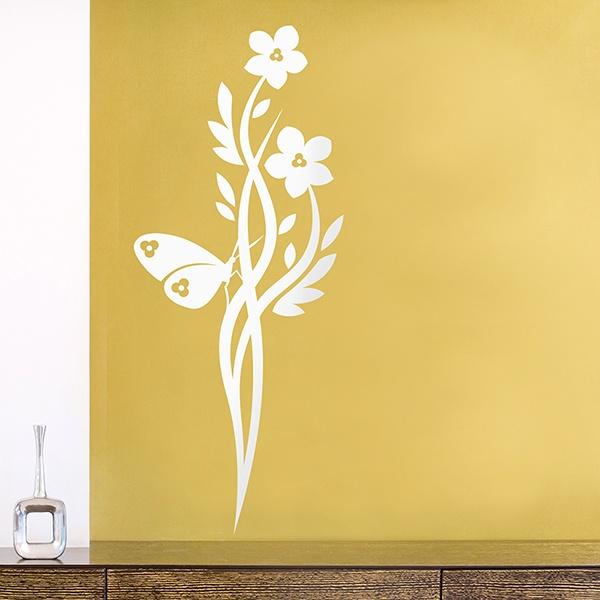 Wandtattoos: Floral 124