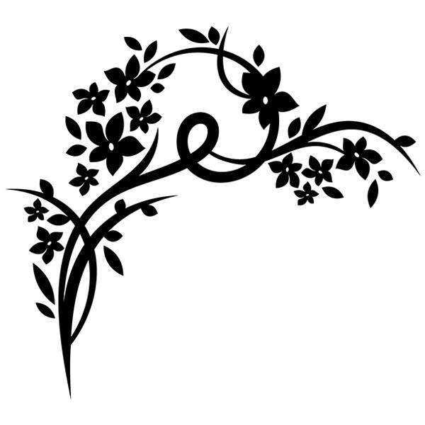 Wandtattoos: Floral 127