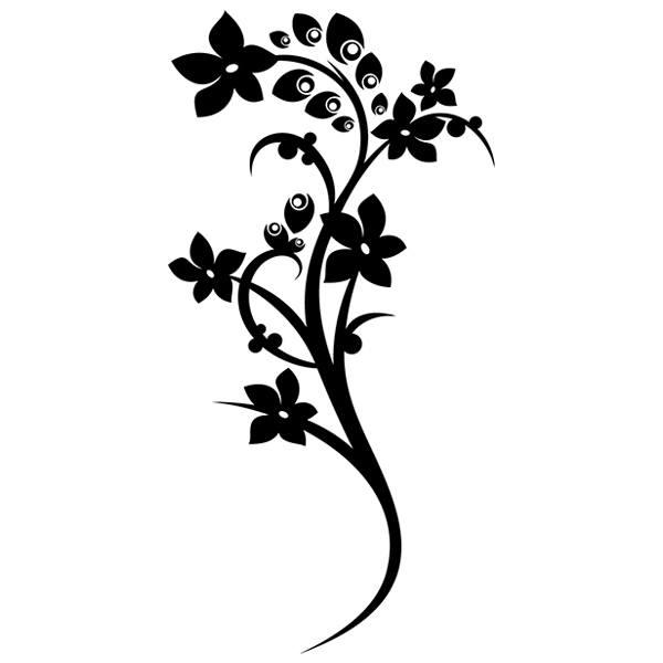 Wandtattoos: Floral 128