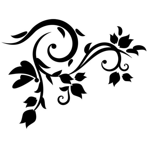 Wandtattoos: Floral 129