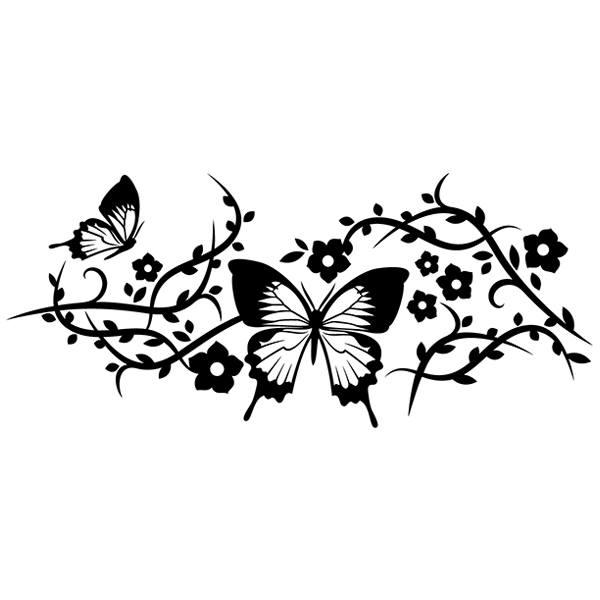 Wandtattoos: Floral 132