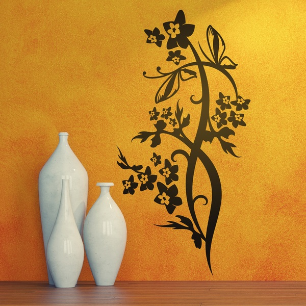 Wandtattoos: Floral 134