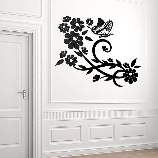 Wandtattoos: Floral 145