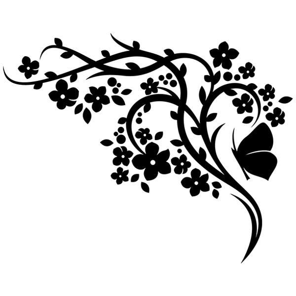 Wandtattoos: Floral 146