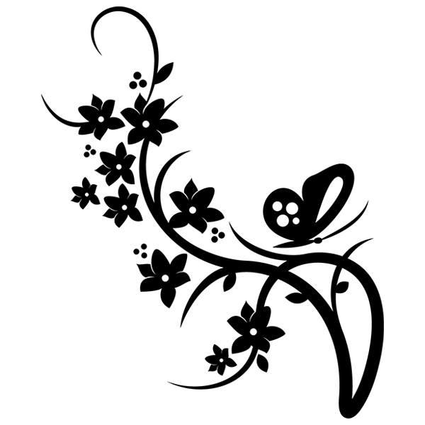 Wandtattoos: Floral 147
