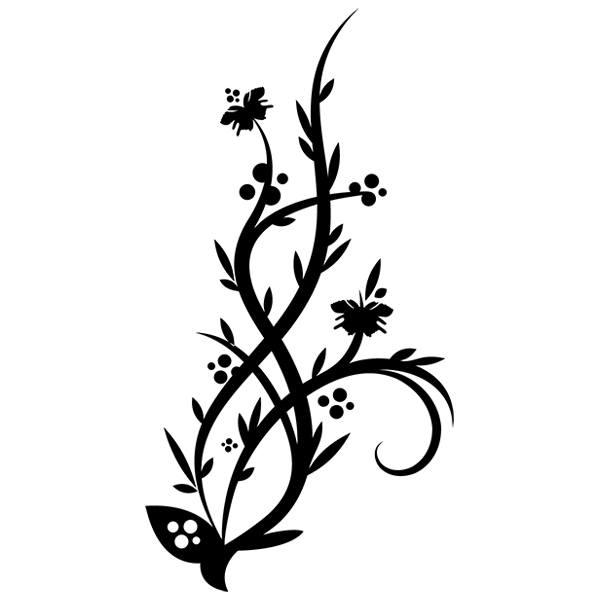 Wandtattoos: Floral 149