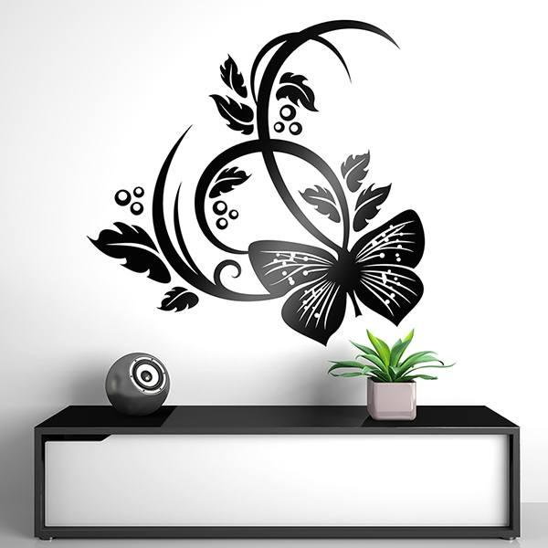 Wandtattoos: Floral 153
