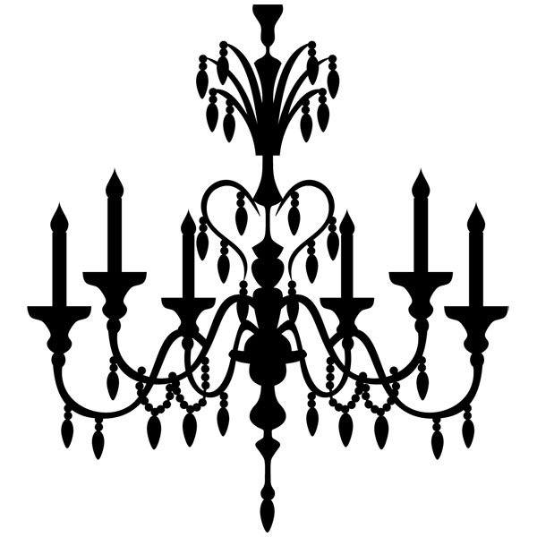 Wandtattoos: lampara vintage