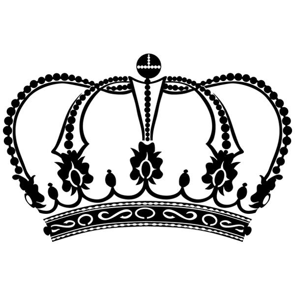 Wandtattoos: Crown